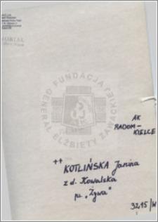 Kotlińska Janina