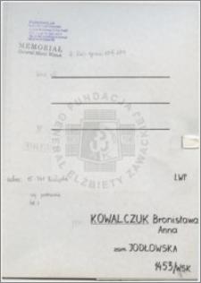 Kowalczuk Bronisława Anna