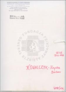 Kowalczyk-Krycka Barbara