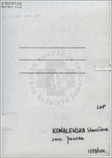 Kowalewska Stanisława