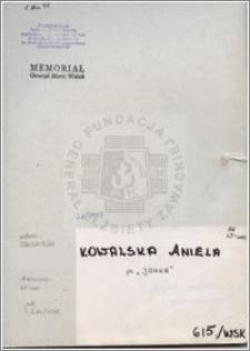 Kowalska Aniela