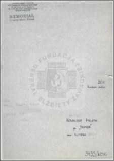 Kowalska Helena