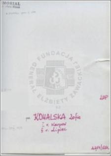 Kowalska Zofia