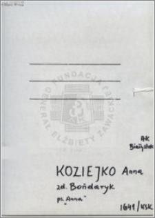 Koziejko Anna