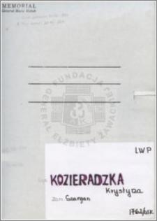 Kozieradzka Krystyna
