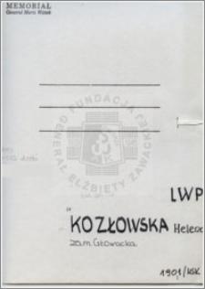 Kozłowska Helena