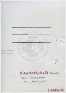 Kruszewska Wanda