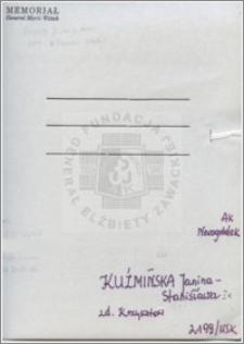 Kuźmińska Janina Stanisława