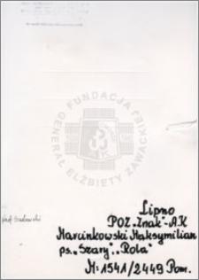 Marcinkowski Maksymilian