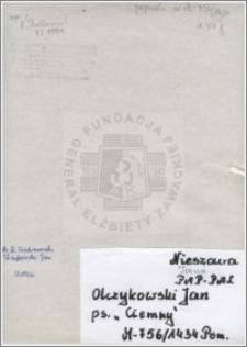 Olczykowski Jan