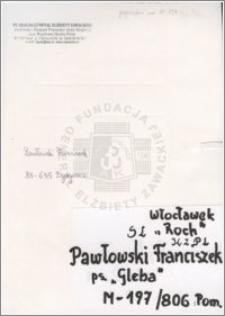 Pawłowski Franciszek