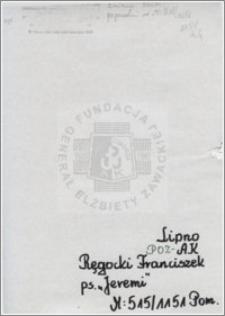 Ręgocki Franciszek