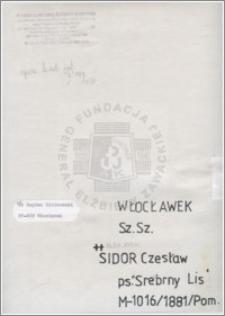 Sidor Czesław