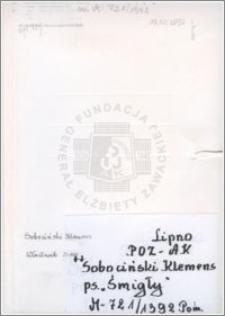 Sobociński Klemens