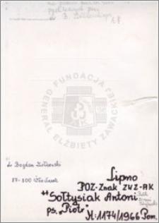 Sołtysiak Antoni