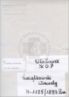 Świątkowski Wincenty
