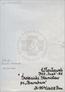 Święcicki Stanisław