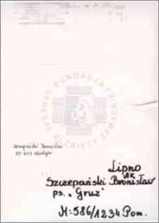 Szczepański Bronislaw