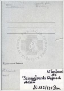Szczygłowski Wojciech