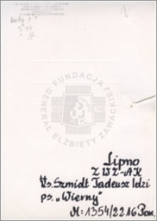 Szmidt Tadeusz Idzi