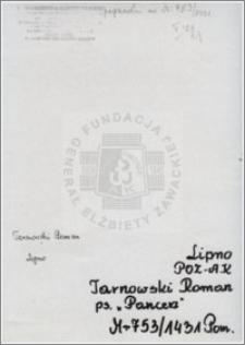 Tarnowski Roman