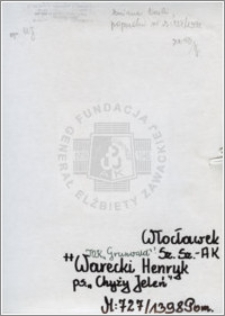 Warecki Henryk