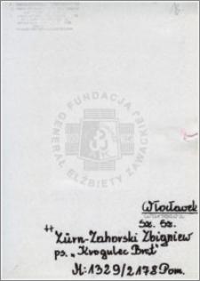 Zürn-Zahorski Zbigniew