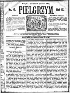 Pielgrzym, pismo religijne dla ludu 1877 nr 10