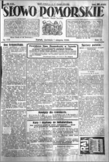 Słowo Pomorskie 1926.08.01 R.6 nr 174