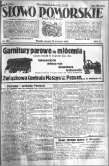 Słowo Pomorskie 1926.08.10 R.6 nr 181