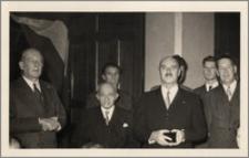 Karol Poznański, generał Władysław Anders i hr. Eugeniusz Lubomirski