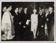 Uroczystości poświęcenia Konsulatu Generalnego RP w Paryżu. Paryż, 4 VII 1927