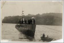 """Wodowanie łodzi podwodnej ORP """"Ryś"""""""