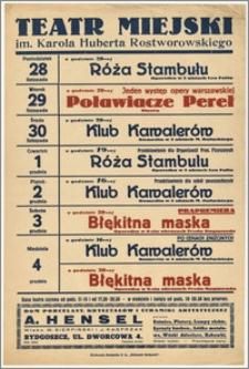 [Afisz:] Repertuar tygodniowy. 28 listopada - 4 grudnia 1938 r.
