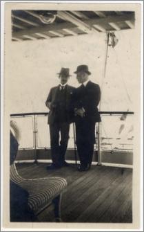 Rozmowa delegatów Turcji oraz Włoch na rokowaniach polsko-tureckich w Lozannie w 1923 roku