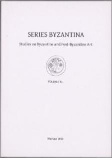 Series Byzantina, 12
