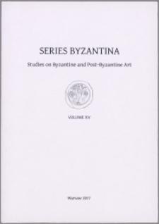 Series Byzantina, 15