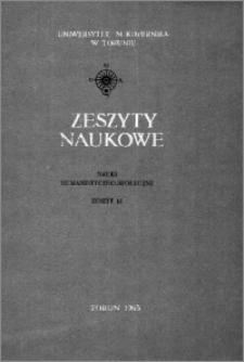 Zeszyty Naukowe Uniwersytetu Mikołaja Kopernika w Toruniu. Nauki Humanistyczno-Społeczne. Filologia Polska, z. 5 (12), 1965