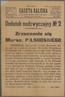 Gazeta Kaliska : Dodatek nadzwyczajny