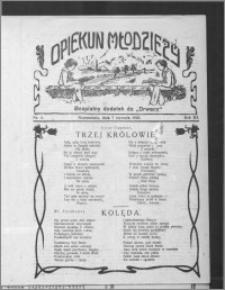 Opiekun Młodzieży 1926, R. 3, nr 1