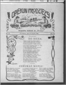 Opiekun Młodzieży 1926, R. 3, nr 33