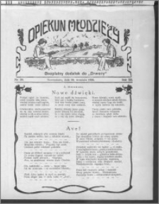 Opiekun Młodzieży 1926, R. 3, nr 39