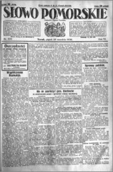 Słowo Pomorskie 1926.09.24 R.6 nr 220
