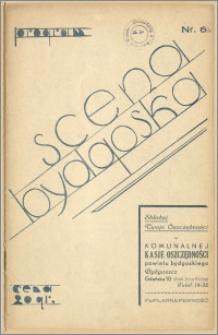 [Program:] Scena bydgoska. Sezon 1935/36, 1936-02-22