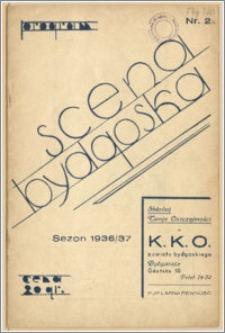 [Program:] Scena bydgoska. Sezon 1936/37