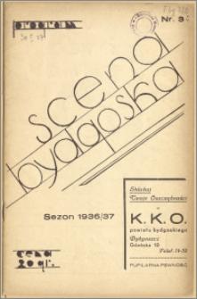 [Program:] Scena bydgoska. Sezon 1936/37, 1937-01-30