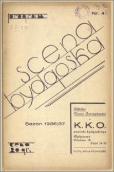 [Program:] Scena bydgoska. Sezon 1936/37, 1937-05-02