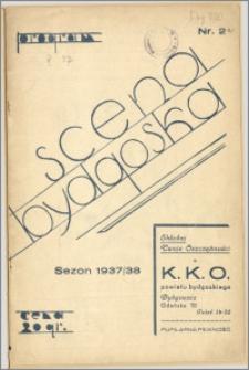 [Program:] Scena bydgoska. Sezon 1937/38, 1937-10