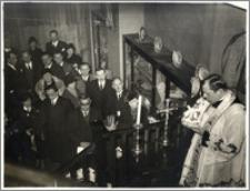 Poświęcenie wystawy Orbisu w Londynie