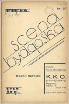 [Program:] Scena bydgoska. Sezon 1937/38, 1937-10-30